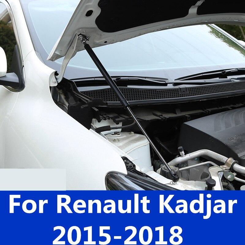 Car Front Engine Hood Lift Support Shock Struts for Renault Kadjar 2015-2018