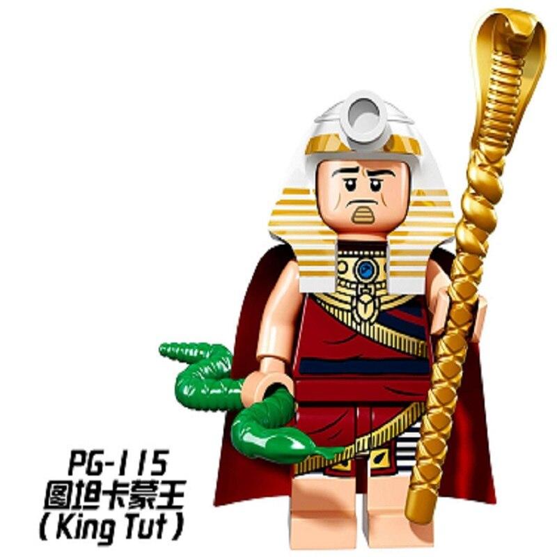 Pg115 супер герой строительные Конструкторы Тутанхамона марта Гарриет кирпичи отряд самоубийц фильм люди собраны модели для детей Игрушечны... ...