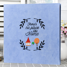 2017 new Embroidery cloth self-adhesive film paste type baby growth DIY manual Gallery Polaroid album