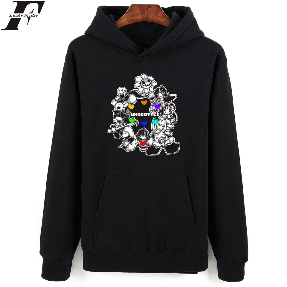 LUCKYFRIDAYF Xxs-4xl 5 Style 4 Color Women/ Men Undertale Hoodies Undertale Hoodies And Sweatshirt  Undertale Hoodies For Men