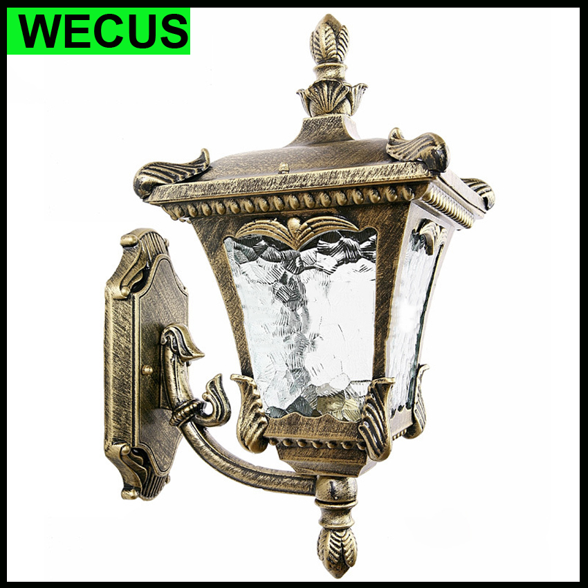 waterproof archaized wall lamp outdoor lighting wall luxury hotel aisle stair bedroom garden vintage lighting fixtures cheap outdoor lighting fixtures
