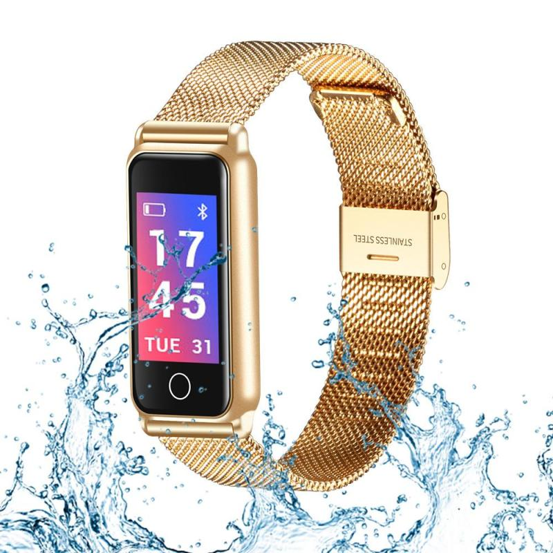 Bluetooth Waterproof Smart Watch Fashion Women Ladies Heart Rate Monitor Smartwatch relogio inteligente For Android IOS цена