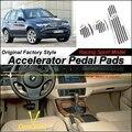 Педали акселератора автомобиль Pad / крышка из первоначально фабрики гонки дизайн модели для BMW X5 E53 2000 ~ 2006 тюнинг