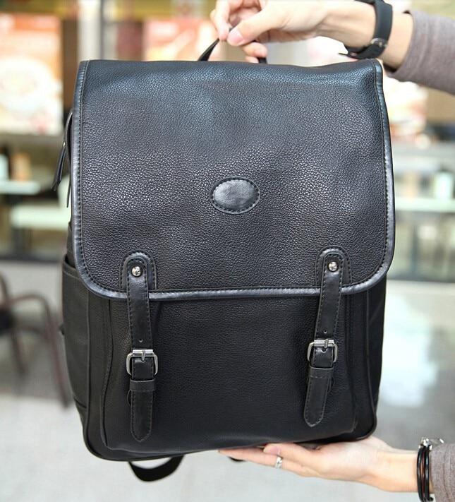 ETN BAG hot sale brand high quality men leather backpack male ...