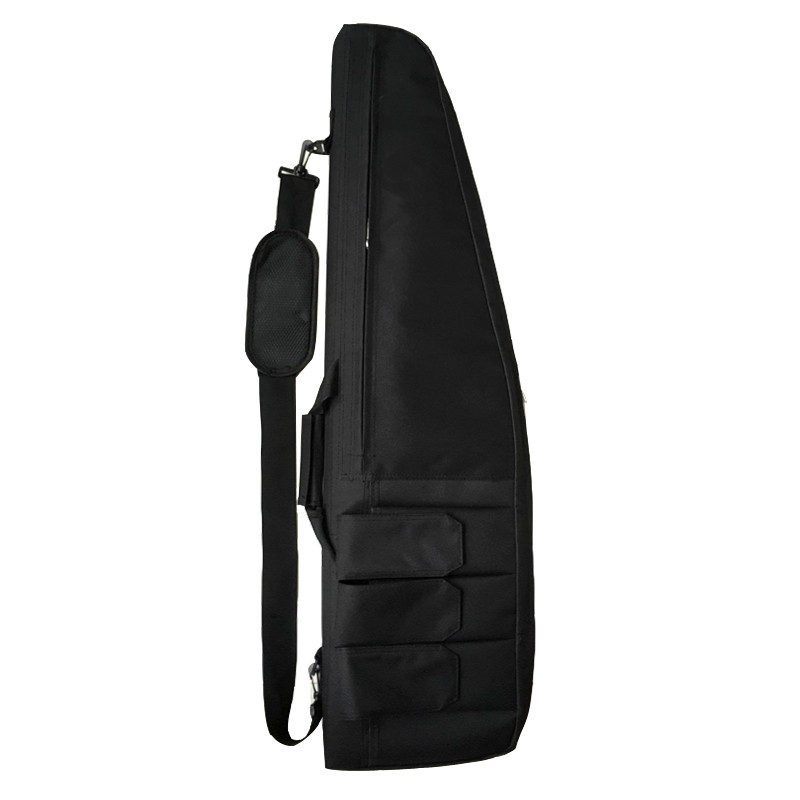 Image 3 - Multifunction Tactical 118CM Gun Bag Heavy Gun slip Bevel Carry Rifle Case Hunting Rifle Gun Shoulder Bag With Protection Cotton-in Holsters from Sports & Entertainment