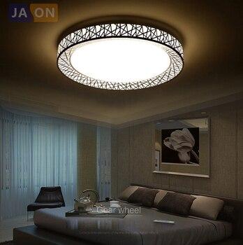 LED moderna de hierro acril 8 cm lámpara LED de Nido de Pájaro blanco. luz LED ¡Luces de techo! luz de techo LED. Lámpara de techo para dormitorio