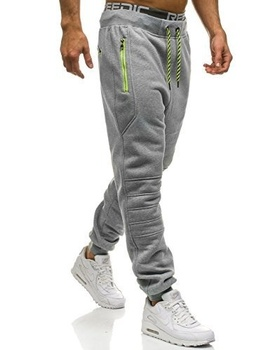 ZOGAA Men Full Sportswear Pants Casual Elastic Cotton Men Fitness Workout Pants Skinny Sweatpants Trousers Jogger Pants Hot Sale