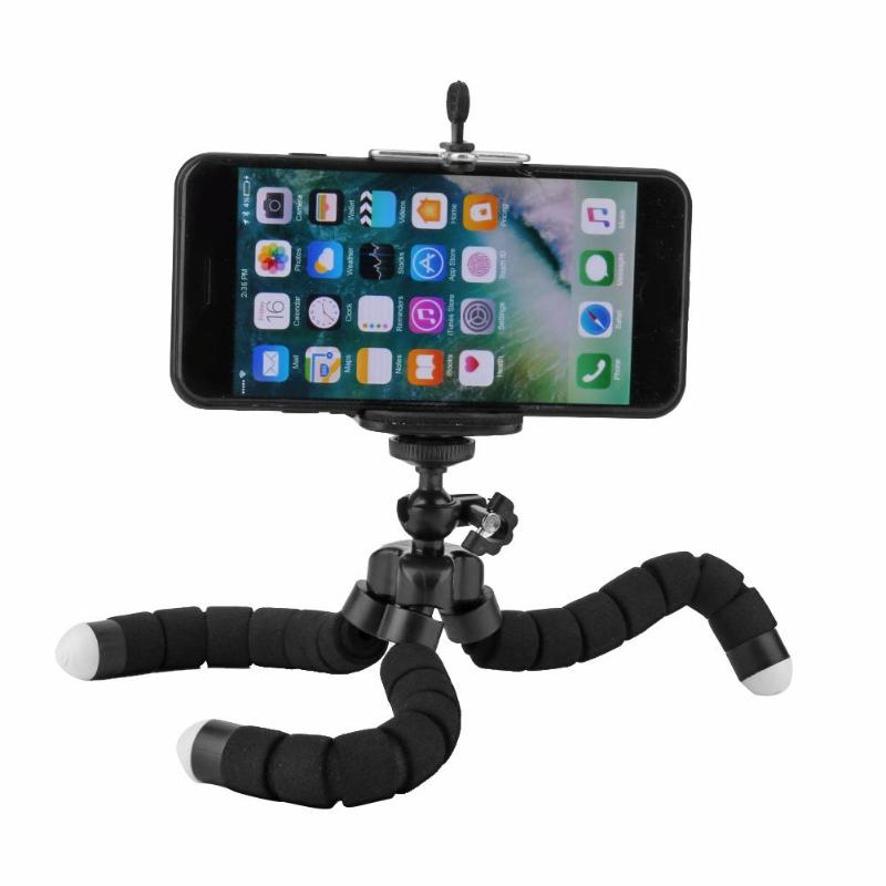 Phone Holder Tripod Bracket Selfie Flexible Octopus Expanding Stand Mount Monopod Styling Accessories For Mobile Phone Camera
