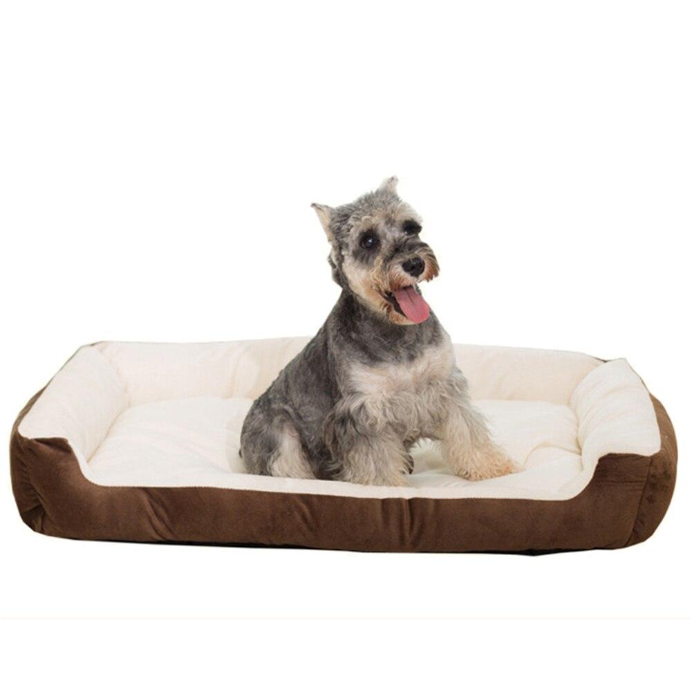 1 stks 30 * 40 * 15/40 * 50 * 15 Huisdieren Hond Kat Bed Pluche - Producten voor huisdieren - Foto 2