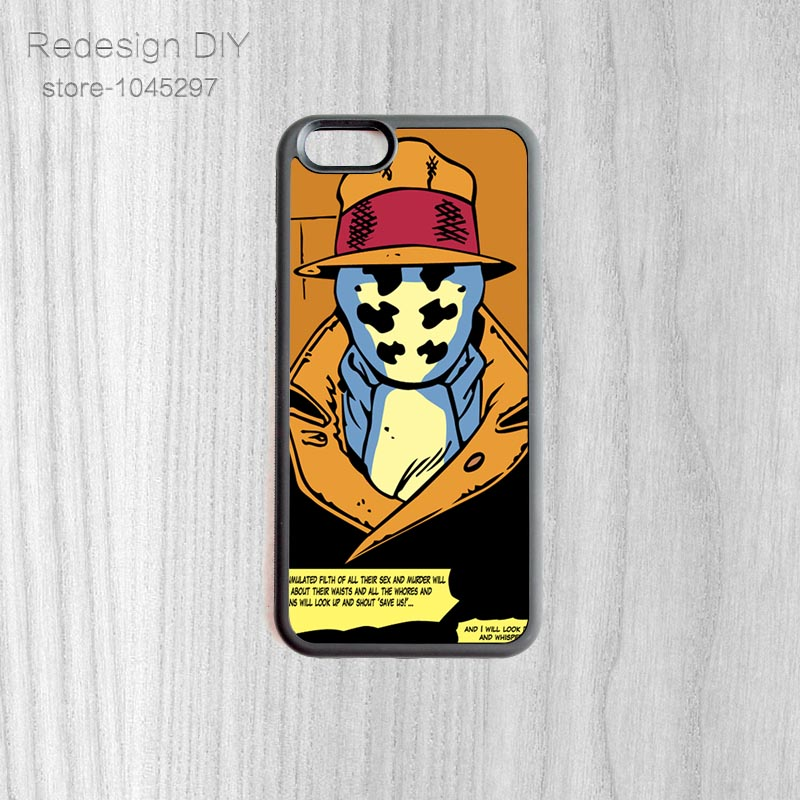 Cool Iphone 4 Wallpapers: Cool Rorschach Vector Wallpaper Case DIY Mobile Protective