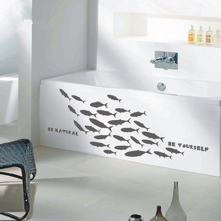 Aliexpress.com : Buy Marine wall stickers for living room fish ...