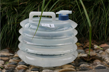 Folding water bag food grade PE Drinking Water