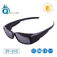 Free shipping Hot sale Made in China Factory Fit over Myopia Sunglasses POLARIZED Outdoor Unisex UV400 Golf Sun glasses