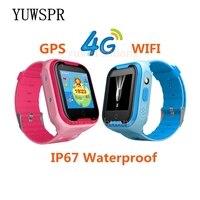 Дети gps трекер часы 4 г умные часы gps LBS Wi Fi местоположение SOS Вызов экран 1,44 'Камера WhatsApp Wechat детские часы Q403