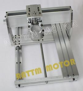 Image 4 - EU ship/free VAT DIY use 6040 CNC Router Engraver Engraving Milling Machine frame Kit Ball Screw & 80mm Aluminum Spindle Clamp