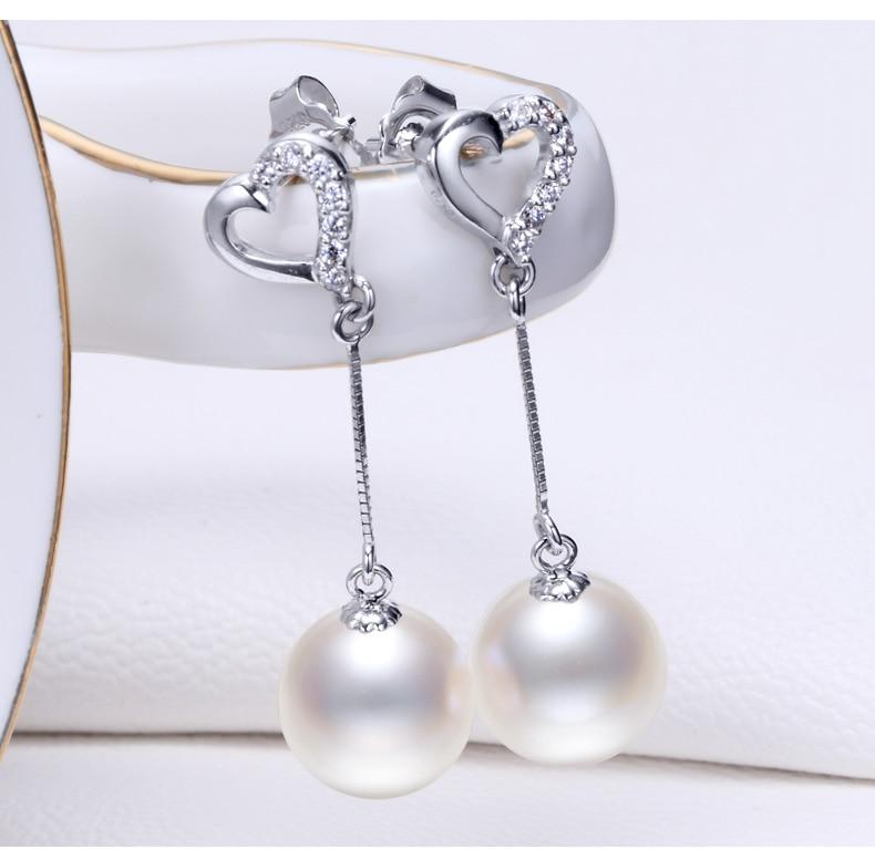pearls earrings jewelry 77