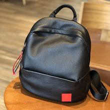 Backpack Female Bag Genuine Leather 2019 New Korean Version of The First Layer Of Leisure Travel
