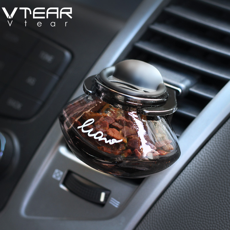 Vtear car air freshener Car tuning Air Vent Perfume Solid fragrance Smell Zeolite Stone perfume No alcohol Car perfume Ornaments