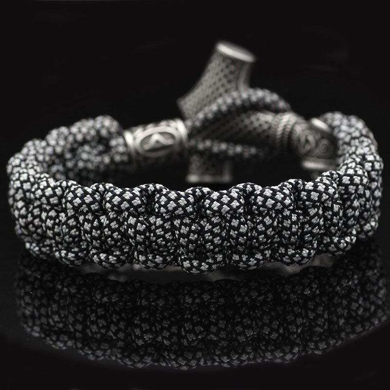 Bracelets Vintage corde tressée  3