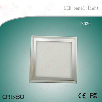 Free Shipping Hot selling 18w  300x300mm silver frame LED Panel Light  aluminum alloy material AC85-265V
