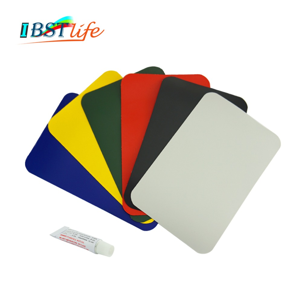 200*130mm Inflatable Plastic Boat Kayak Special PVC Repair Patch Kit With Glue Waterproof Patch Rib Canoe Dinghy Float