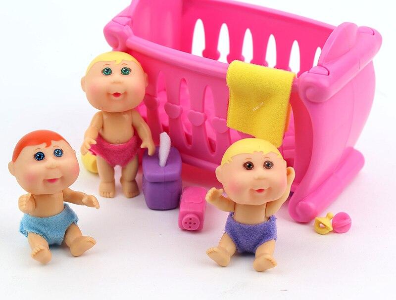 Orijinal Şirin Kələm Patch Uşaqlar Evi oyuncaqlar dəsti uşaqlar - Kuklalar və kuklalar üçün aksesuarlar - Fotoqrafiya 2