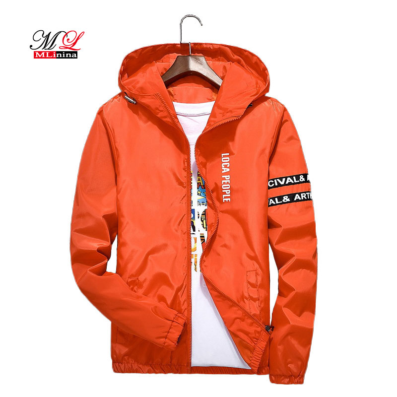 MLinina   Basic     Jacket   New Spring Autumn Korean Style Female Slim Pocket Motorcycle   Jacket   Women Casual Plus Size 4XL Hoode Coat