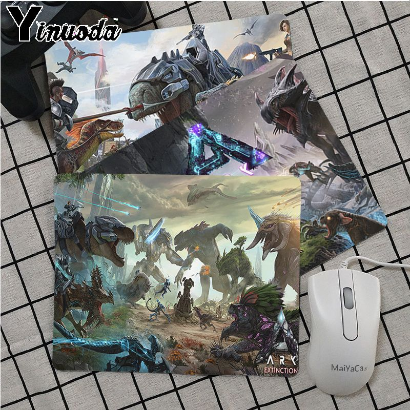 Maiya Top Quality ARK Survival Evolved Silicone Pad To Mouse Game Top Selling Wholesale Gaming Pad Mouse