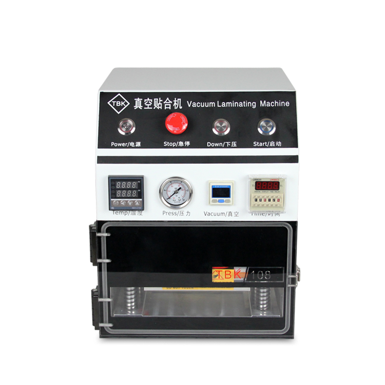 TBK OCA Laminazione Macchina, 7 pollice Vuoto Macchina di Laminazione per Cellulari LCD risanamenti