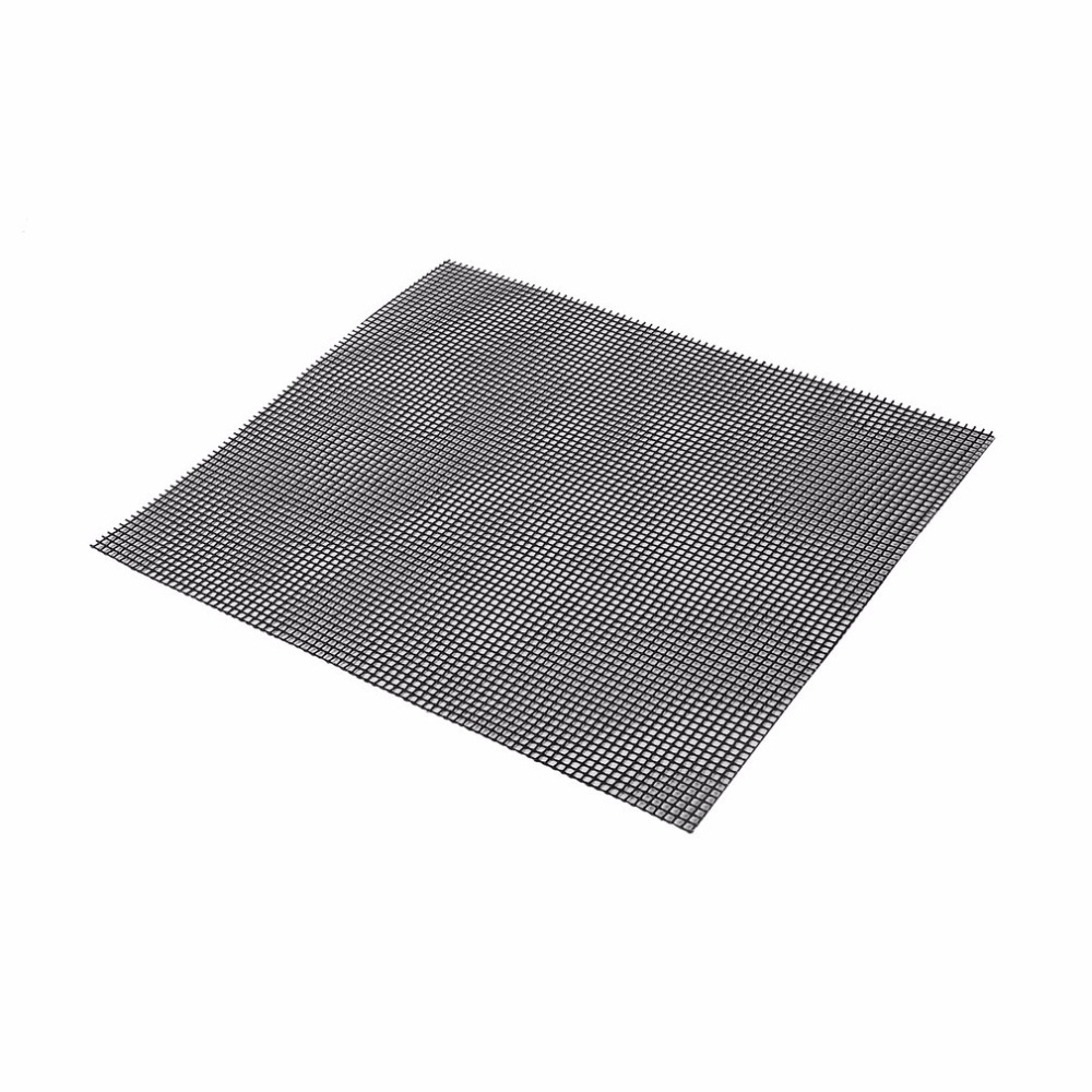 3 Size Non Stick Square Grid Mesh Bbq Grill Mat Reusable