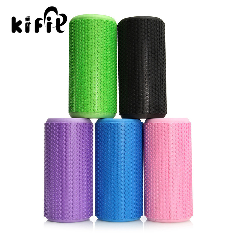 KIFIT Modern Gym Exercise Fitness Floating Point EVA Yoga Foam Roller Physio Trigger Massage Health Beauty Tools 5 Colors 1pc top healthy organic bamboo wood natural wooden yoga brick training block exercise fitness gym practice tool