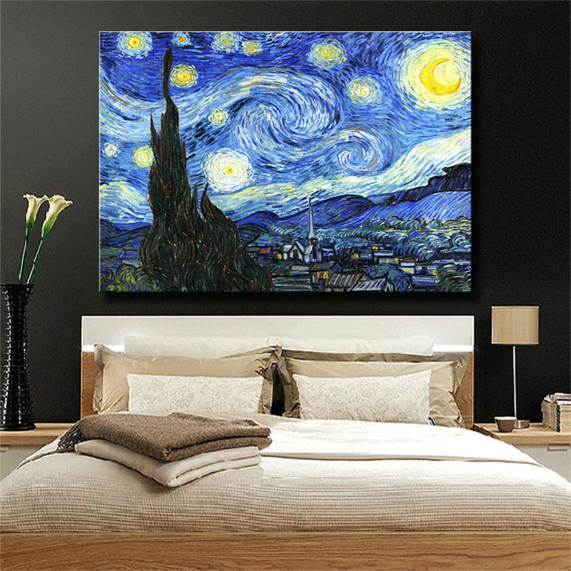 Aliexpress Com Buy Starry Night By Vincent Van Gogh