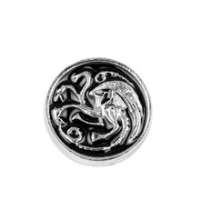 Hot Movie Game of Thrones Brooch Song of Ice and Fire Vintage Targaryen  Dragon Pin Brooch bf68f5e8cb07