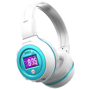 Image 3 - Słuchawki bezprzewodowe z bluetooth zestaw słuchawkowy Stereo HiFi z mikrofonem Radio FM karty Micro SD gra dla iphone huawei samsung