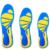 Almofadas De Absorção de choque palmilha ortopédicos arch Palmilhas de Gel de Silicone Cuidados Com Os Pés para Esporão de Calcanhar Fascite plantar Correndo Esporte Palmilhas
