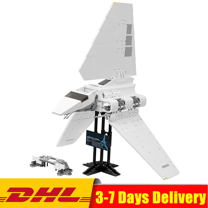 IN Stock Star Wars The Imperial Shuttle Model Building Compatible LegoINGlys 10212 05034 Blocks Bricks Educational Toys