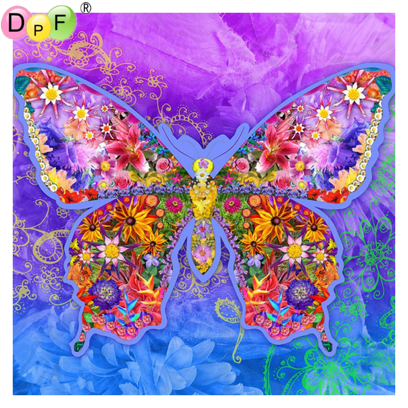 Diamond Painting Cross Stitch Needlework Diamond Embroidery Butterfly Icon Diy Diamond Painting Cross Stitch Kits Crystal Full Diamond Mosaic Painting Products Are Sold Without Limitations