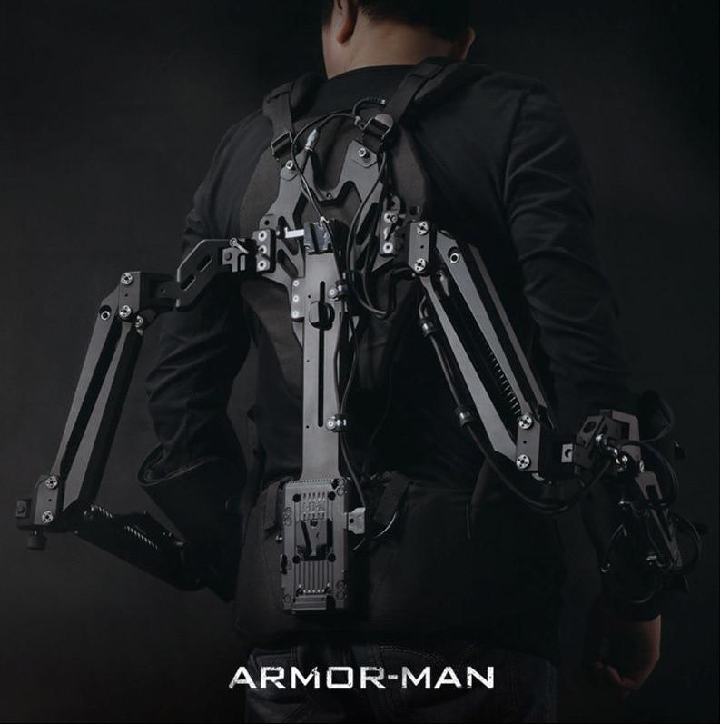 TILTA MAX ARMOR-MAN Ultimate Steadicam Steaycam Gimbal Support Load 11.3KG Vest + Arm + Case