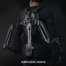 TILTA MAX ARMOR-MAN Ultimate Steadicam Steaycam Gimbal Поддержка нагрузки 11,3 кг жилет+ рука+ чехол