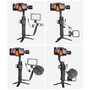 Image 2 - In Stock Freevision Vilta M Pro 3 Axis Handheld Gimbal Smartphone Stabilizer for Huawei P30 Pro IPhone X XS Samsung Gopro 5/6/7