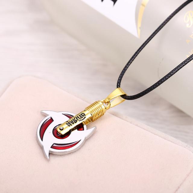 Naruto Sharingan Shippuuden Eyes Necklace