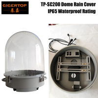 Gigertop TP SC200 200W 5R/230W 7R Moving Head Light Plastic Round Rain Cover Outdoor IP65 Sharpy Beam 3 Pin/5Pin DMX XLR Socket