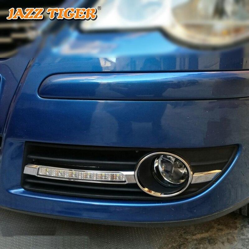 JAZZ TIGER 2kom Super automobilska svjetlost DRL lampica 12V dnevno - Svjetla automobila - Foto 5