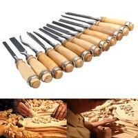 12pcs/Set New Multi Tool Hand Wood Carving Chisels Knife For Basic Woodcut DIY 99 XHC88