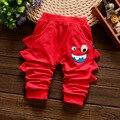 2016 meninos meninas calças do bebê primavera outono roupas de algodão das crianças calças do bebê calças do bebê calças harém menina frete grátis