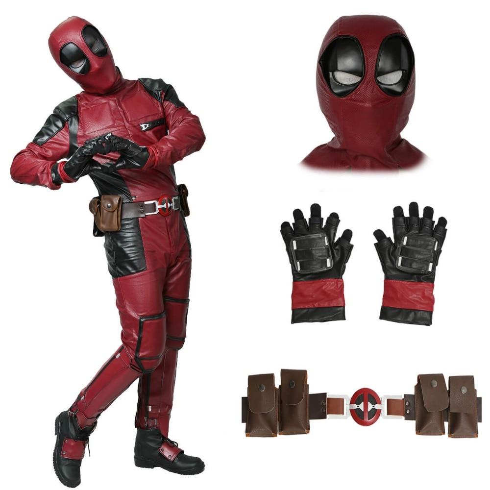 Aliexpress.com : Buy Xcoser Deadpool Costume Movie ...