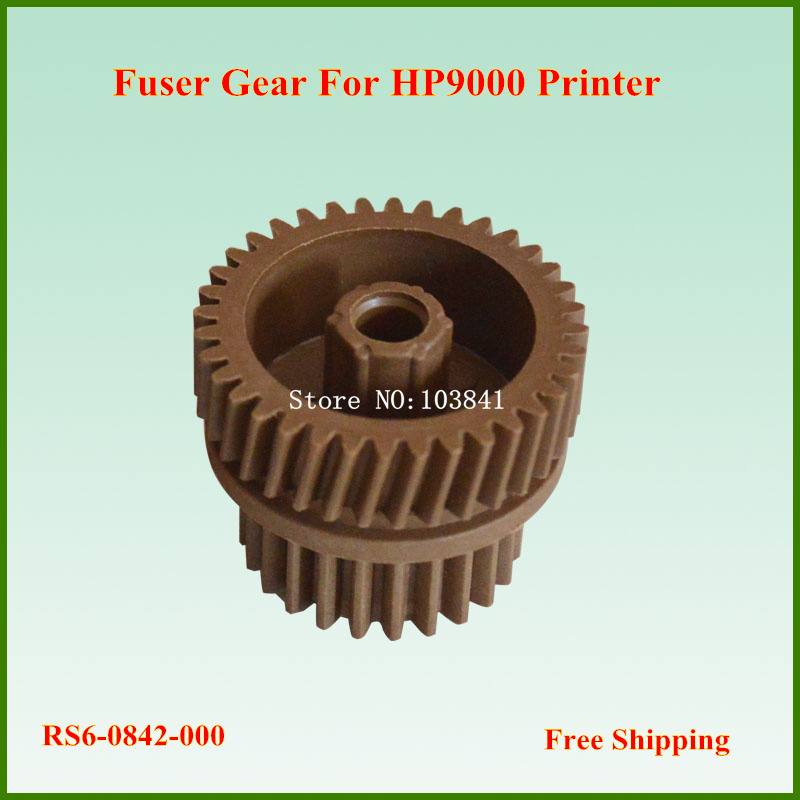 цены на retail  36T/24T  RS6-0842-000 Compatible Fuser Gear for HP LaserJet 9000 9040 9050 Printer Gears
