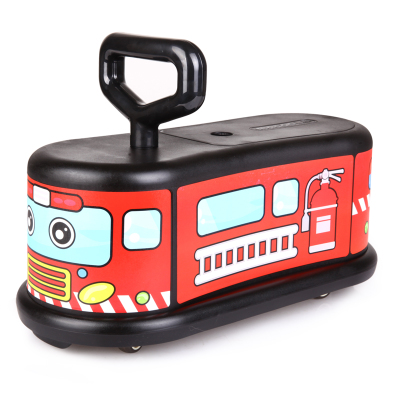 Children shilly car Scooter Wheels slippery infant car bumper car walker yo car puzzle infant shining swing car mute flash belting leather music environmental quality children s toy car