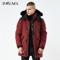 2019 Men's Winter Jacket Men Hooded Coat Thick Casual Outwear Parkas Hombre padded windproof cotton Windbreaker warm coat DA005