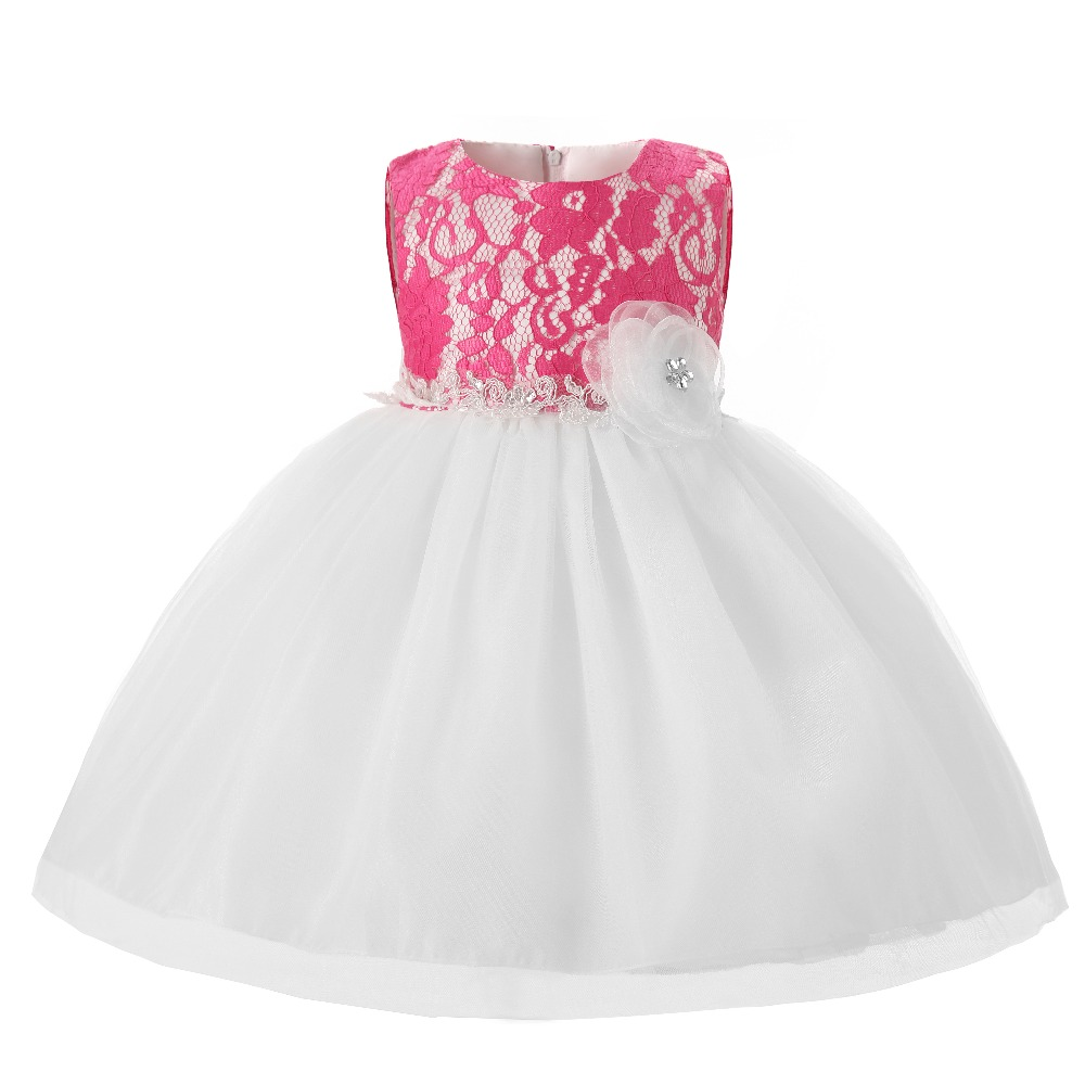 Newborn Baby Girl Infant Dress Wedding Kids Clothing For Girls 1 Year  Birthday Princess Dresses Tutu Dress Girl Baptism Clothes